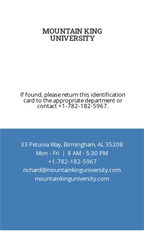 College ID Card Template 1.jpe