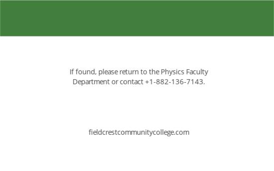 Community College ID Card Template 1.jpe