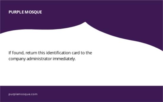 Mosque Membership ID Card Template 1.jpe