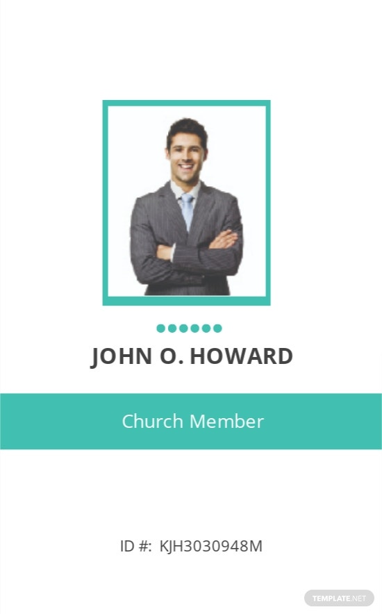 Printable Church ID Card Template.jpe