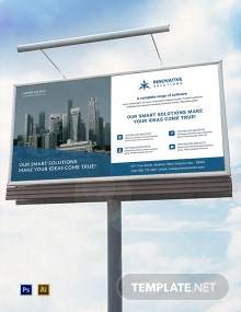 Business Solutions Billboard Template