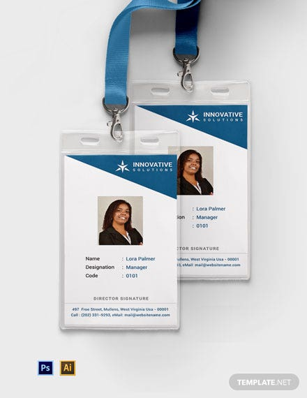 Free Business Solutions ID Card