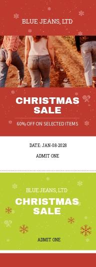 Christmas Sale Ticket Template.jpe