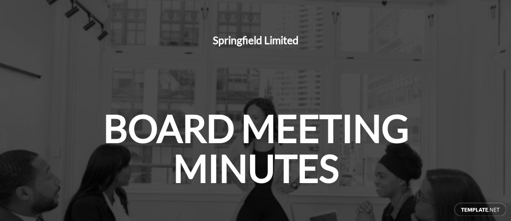 Free Board Meeting Minutes Template.jpe