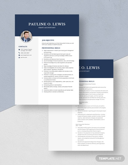 Grant Accountant Resume  Download