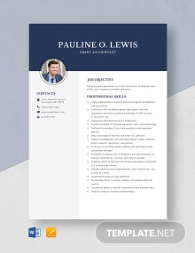 Grant Accountant Resume Template