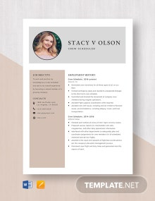 Contract Auditor Resume Template