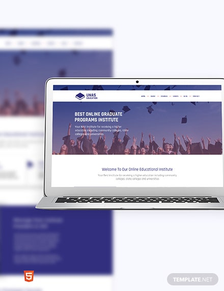 Education Bootstrap Landing Page Template