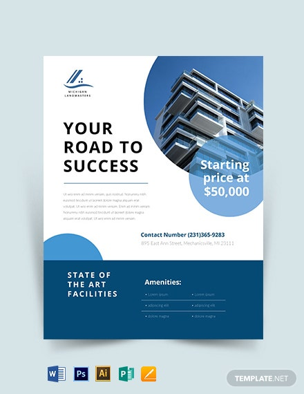 Corporate Real Estate Flyer Template