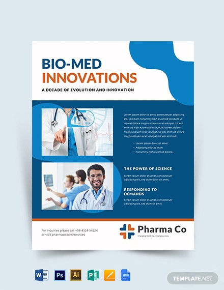 Health Business Flyer Template
