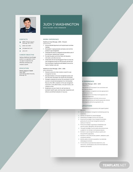 Healthcare Case Manager Resume Download
