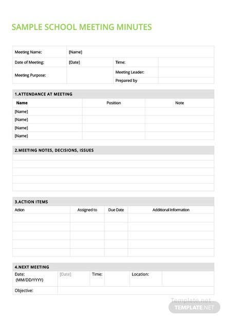 Free sample school meeting minutes template download 65 meeting free sample school meeting minutes template download 65 meeting minutes in word pdf apple pages template maxwellsz