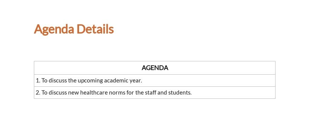 Free Sample School Meeting Minutes Template 2.jpe