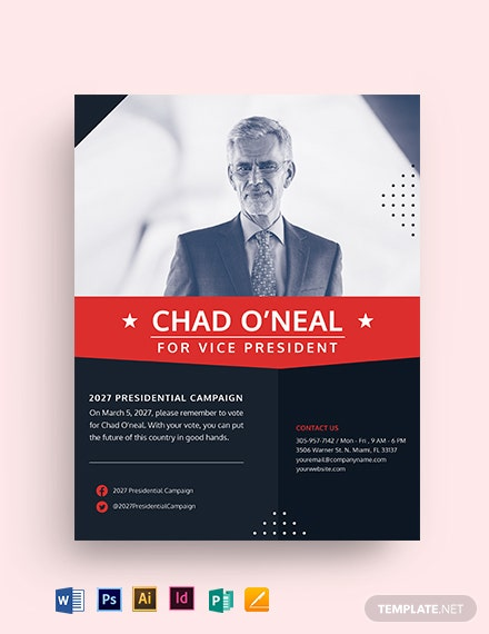Voting Campaign Flyer Template