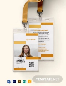 Missionary ID Card Template