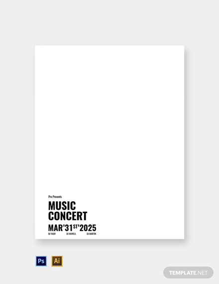 Free Music Band Letterhead Template