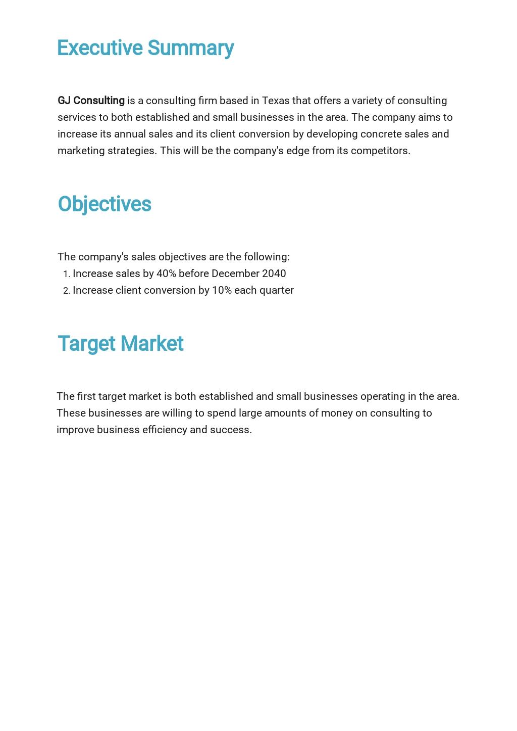 Free Basic Sales Plan Template 1.jpe