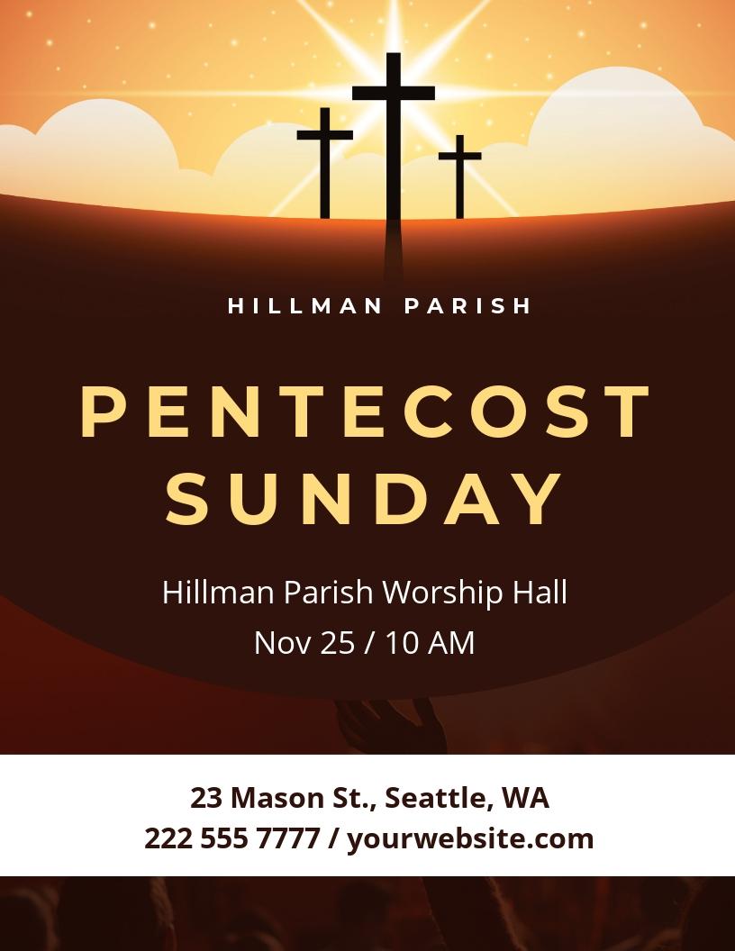 Pentecost Sunday Flyer Template.jpe