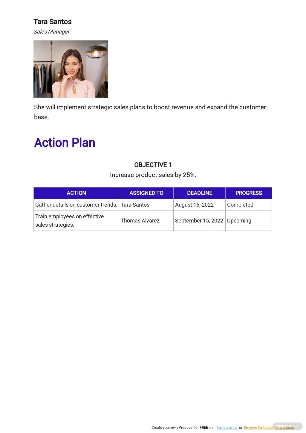 Daily Sales Action Plan Template 2.jpe