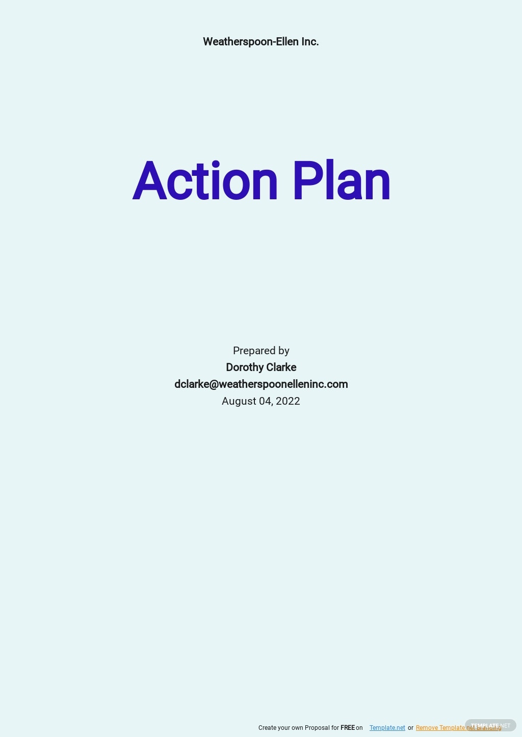 Daily Sales Action Plan Template.jpe