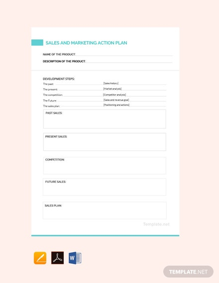 Free Sales and Marketing Action Plan Template