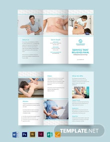 Medical Spa Tri-Fold Brochure Template