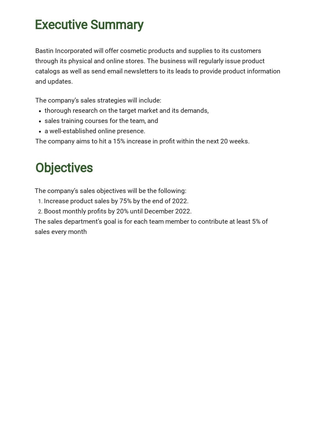 Free Weekly Sales Activity Plan Template 1.jpe