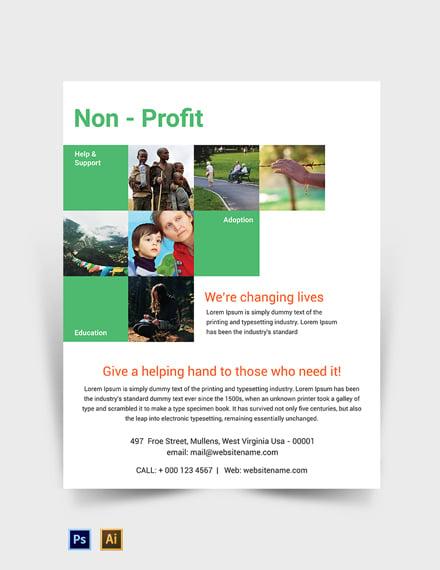 Free Non-Profit Flyer Template
