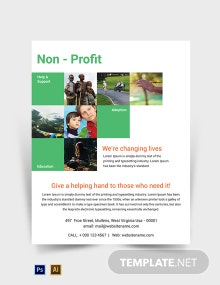 Free Non-Profit Flyer Template