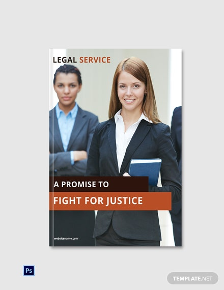Free Legal Services ebook Cover Page Template