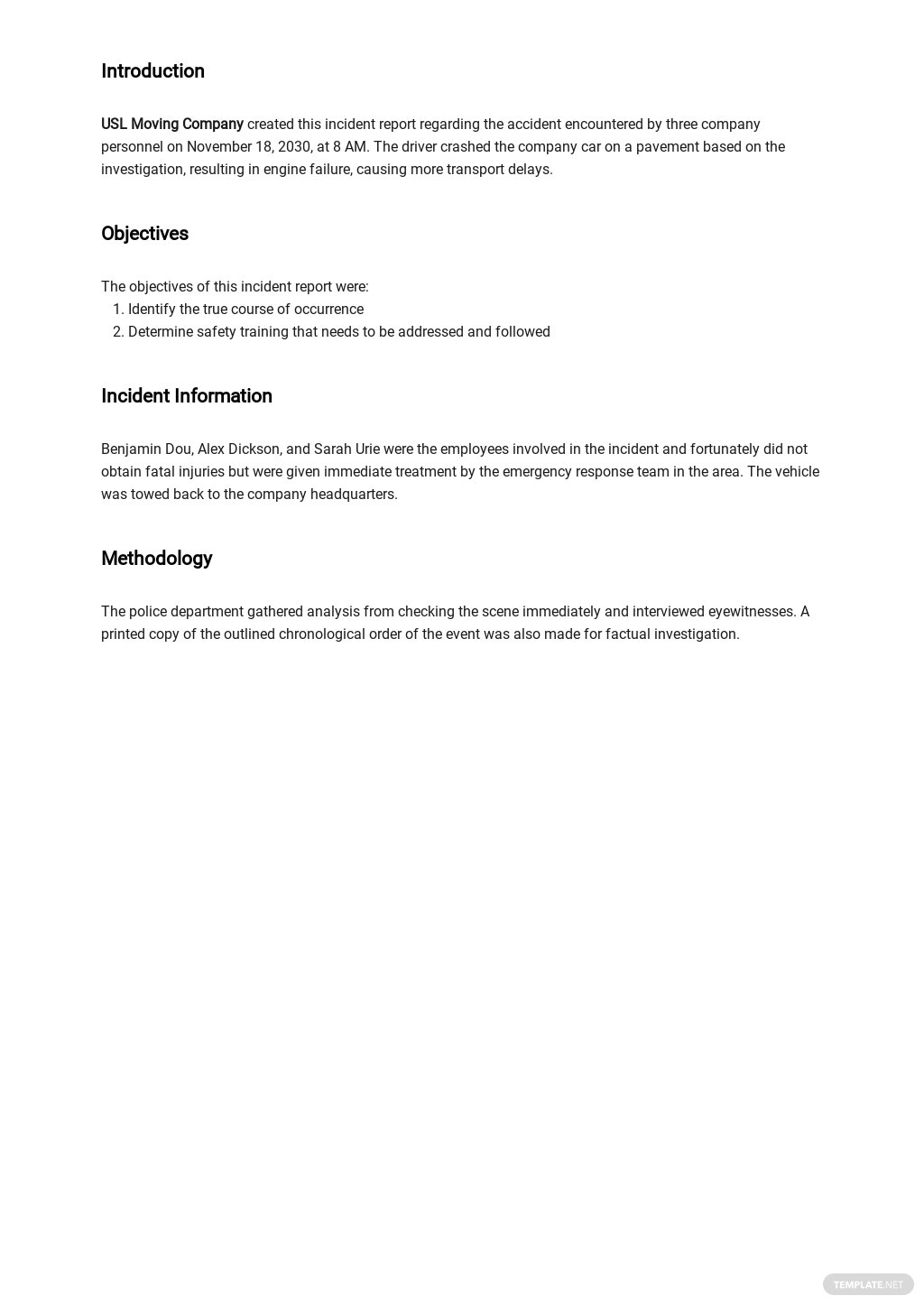 Free Blank Incident Report Template 1.jpe