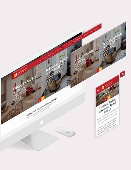 Apartmental Rental Bootstrap Landing Page Download