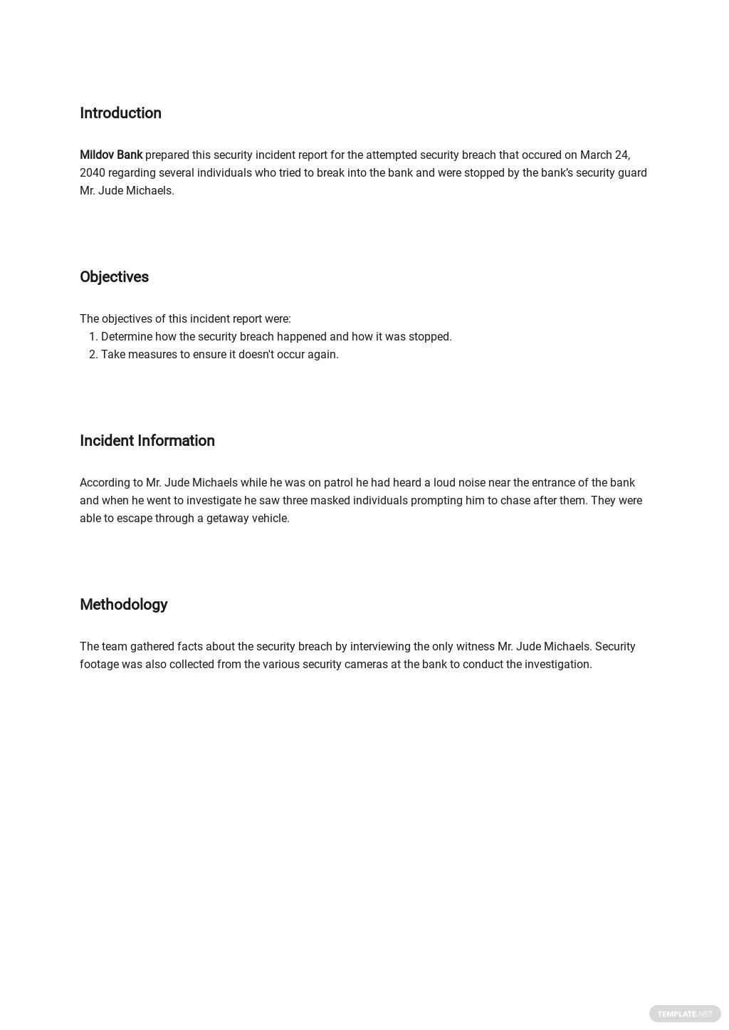 Free Security Incident Report Template 1.jpe