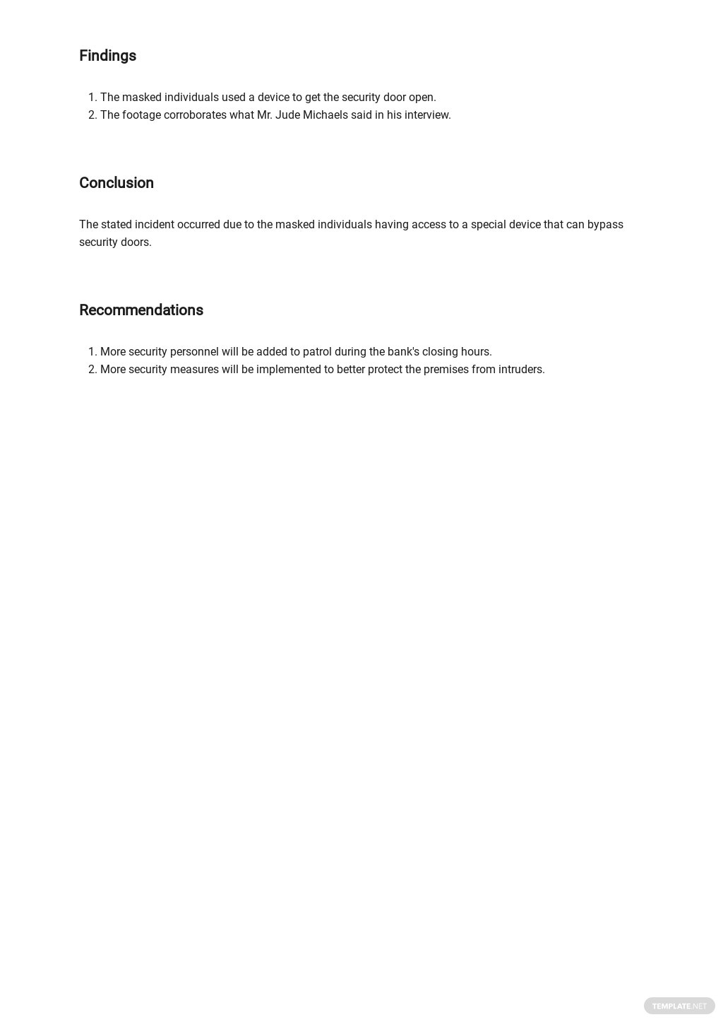 Free Security Incident Report Template 2.jpe