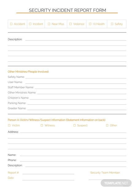 Security incident report template download 154 reports in word security incident report template maxwellsz