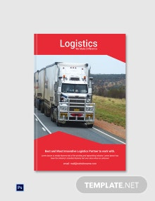 Free Logistics Services ebook Cover Page Template