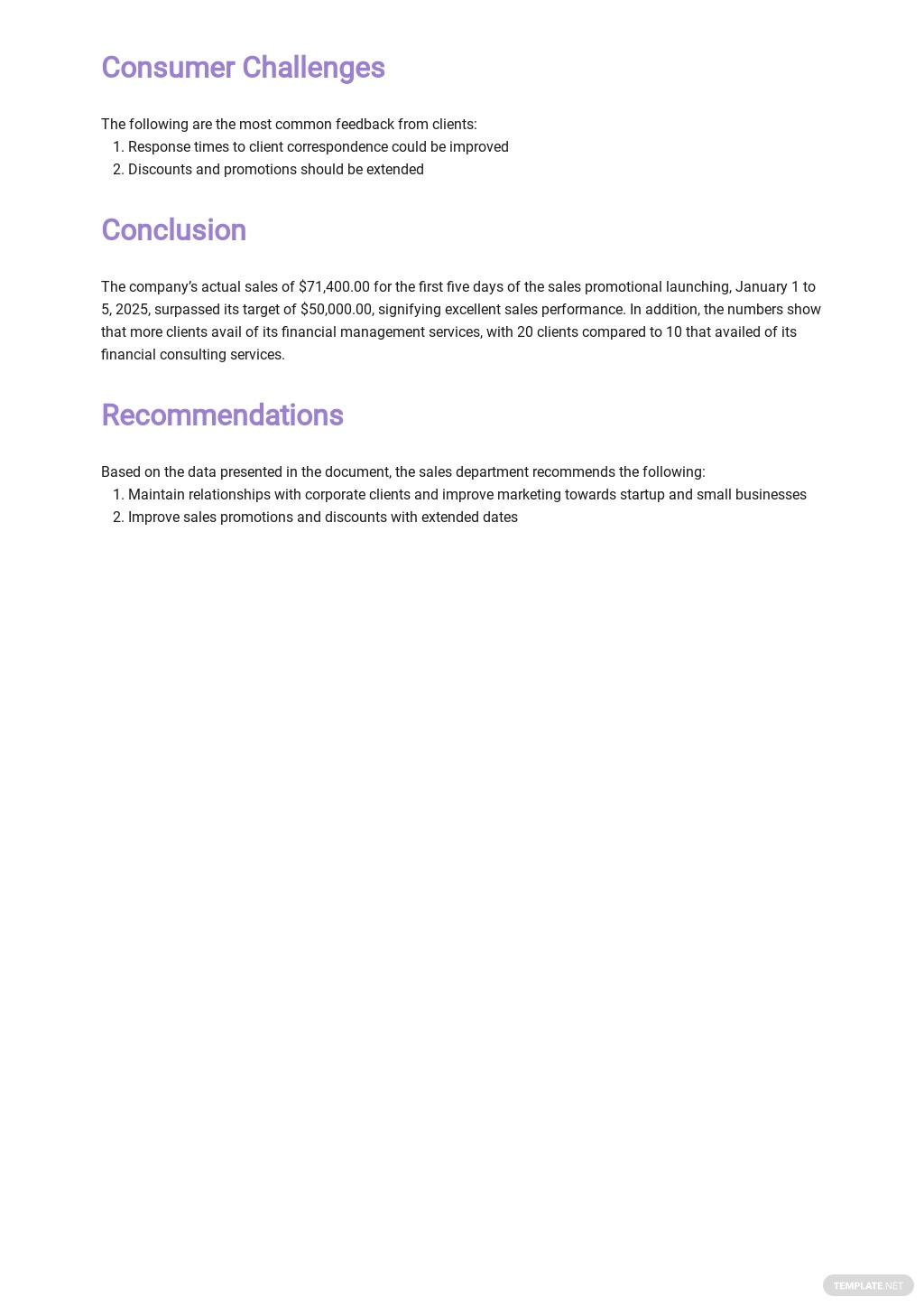 Free Daily Sales Report Template 3.jpe