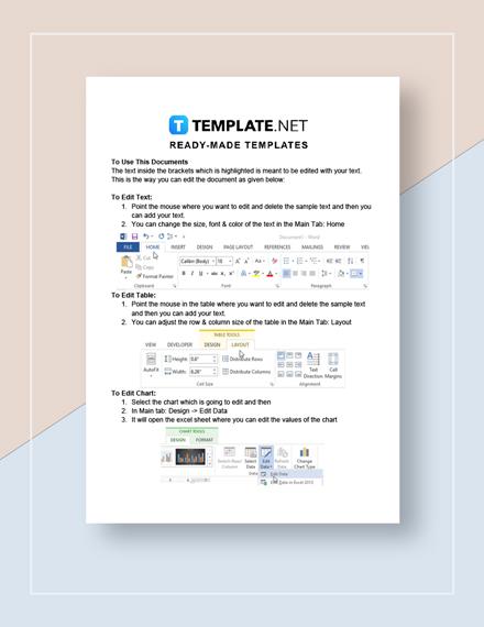 Elementary School Schedule Instructions