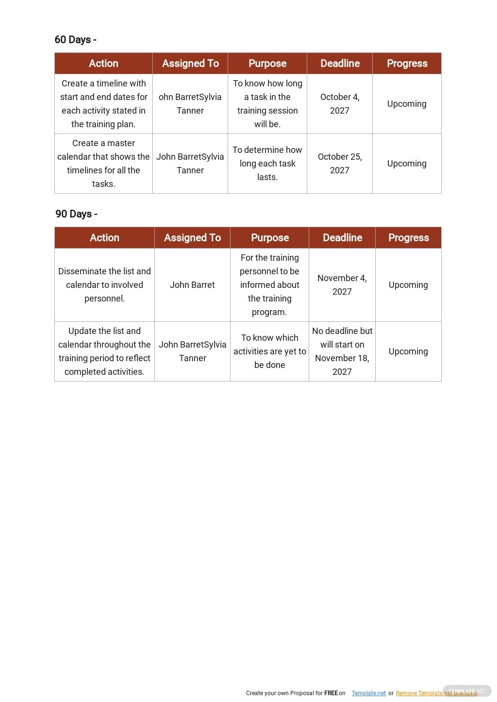 30 60 90 Day Training Plan Template 3.jpe