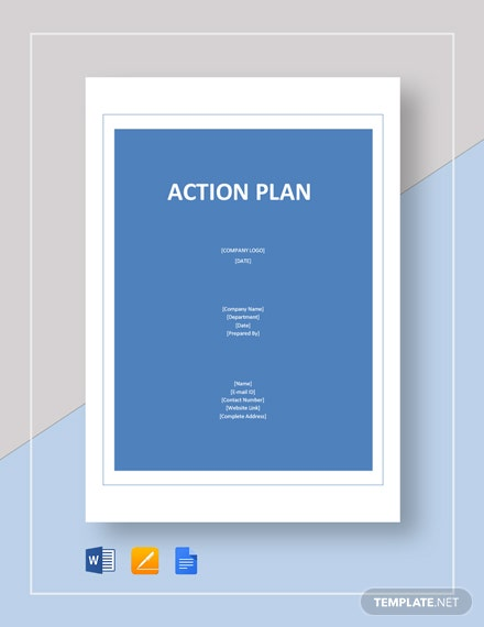 Blank Action Plan