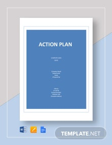 Blank Action Plan Template
