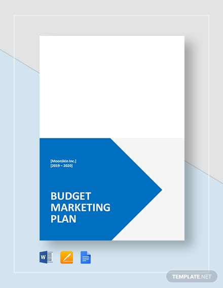 budget marketing plan