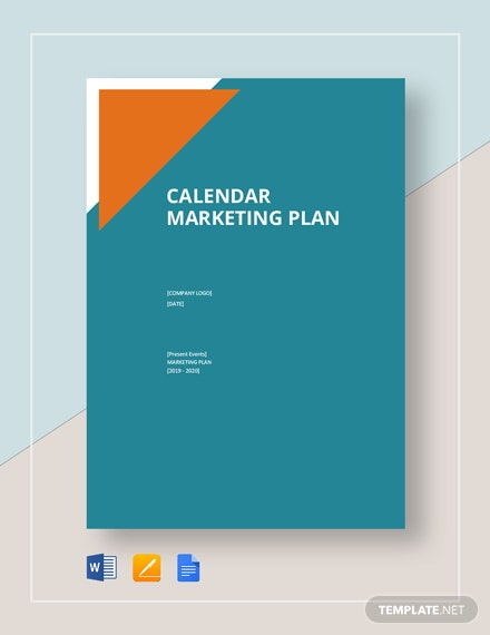 Calendar Marketing Plan
