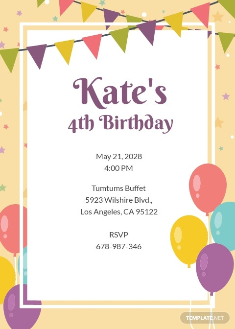 Free Email Birthday Invitation Template.jpe