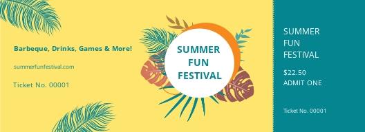 Summer Festival Ticket Template.jpe