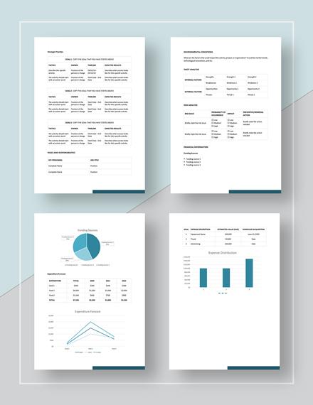 Sample Development Plan Format
