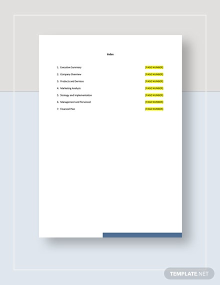 Funnel Marketing Plan Template
