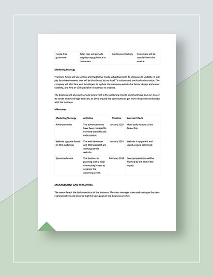 Basic Sample Sales Compensation Plan