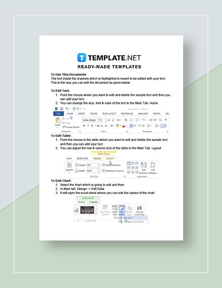 Sample Sales Compensation Plan Instructions