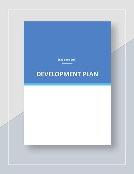 Simple Development Plan